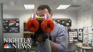 The 'Super Soaker' Inventor Is Now Helping Young Engineers | NBC Nightly News