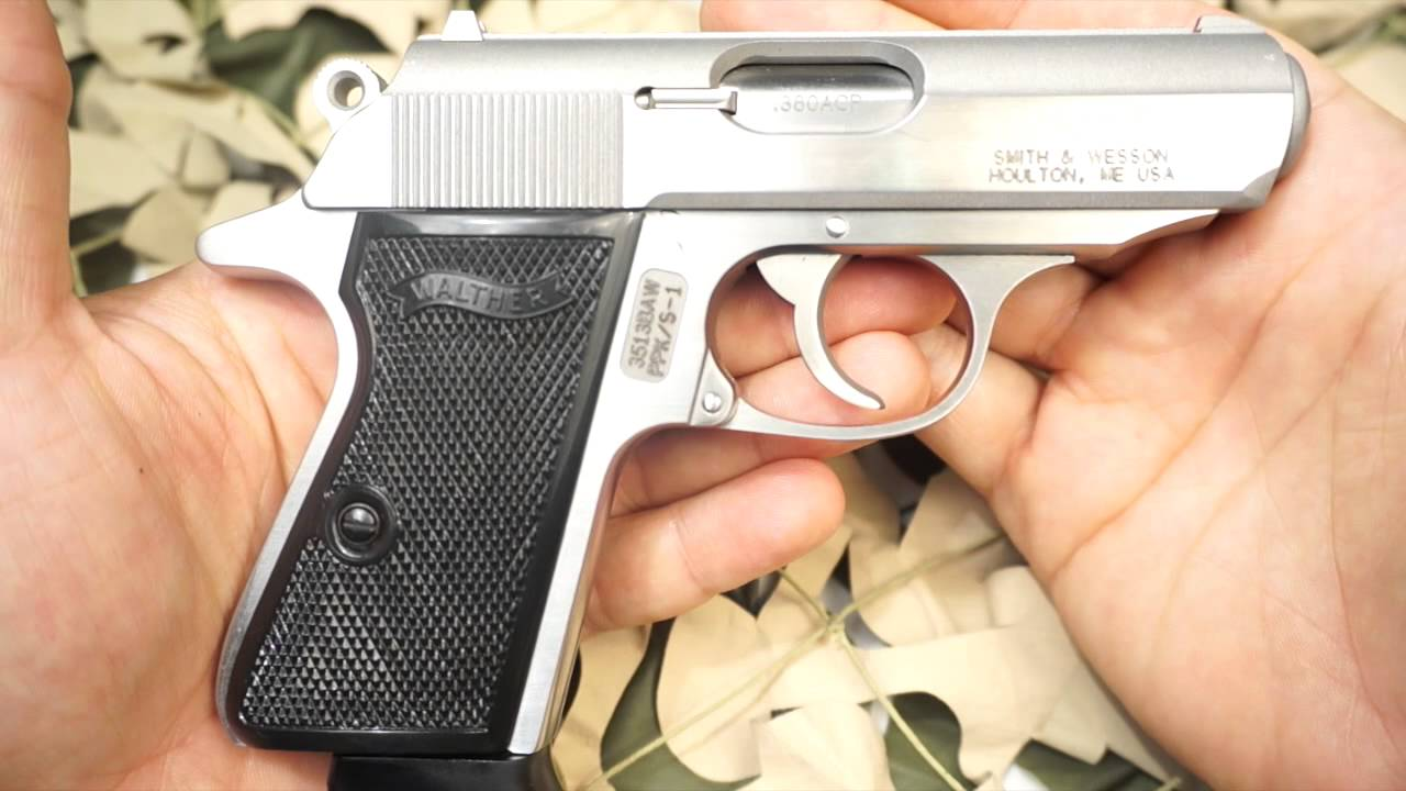 Walther PPK:S vs PPK  380ACP Concealed Compact Carry Semi Auto Pistol  Overview - New World Ordnance