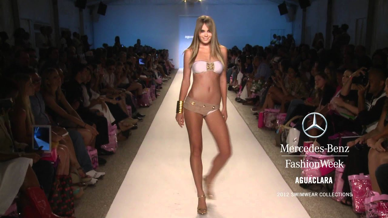 AGUACLARA SWIMWEAR 2012 SWIMWEAR COLLECTION, MERCEDES BENZ FASHION WEEK SWIM    YouTube