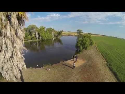 Drone Footage Of JetPack Aviation JB-9 Training Flight In California