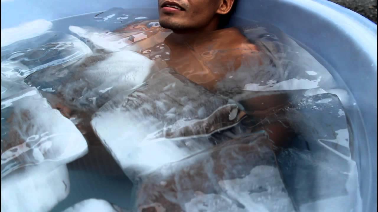 Cold bath sperm count