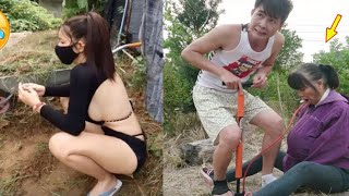 funny videos 🤣 comedy video/ prank video /funny videos 2021/ Chinese comedians P 3