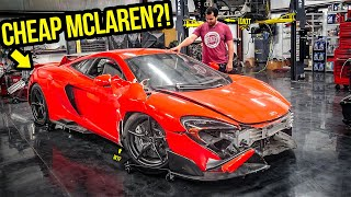 I Bought A Wrecked $400,000 Mclaren 675LT Because I'm A COMPLETE IDIOT (They Told Me NOT TO BUY IT)