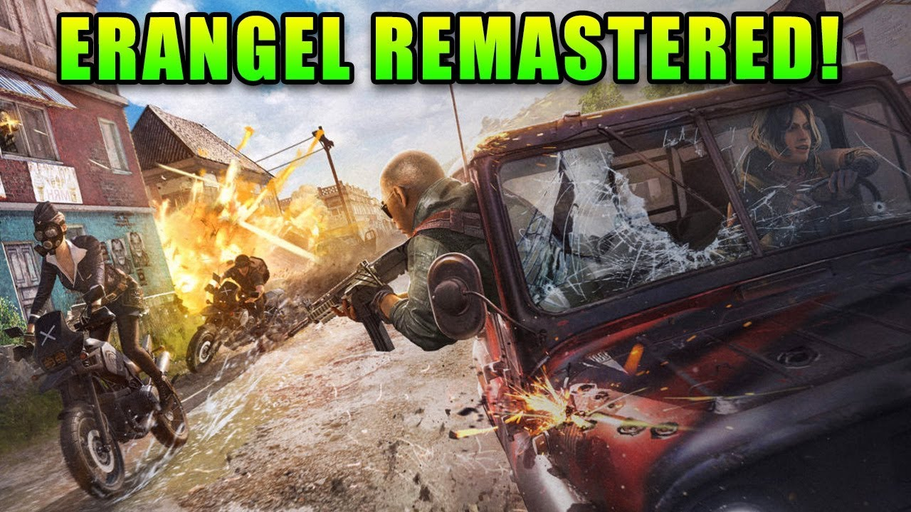 Erangel Remastered! - PlayerUnknown's Battlegrounds thumbnail