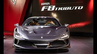 Ferrari F8 Tributo Chinese Debut