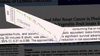 Breast Cancer Survival Vegetable YouTube Thumbnail