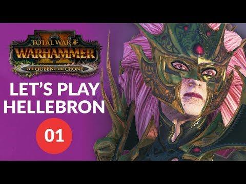 Total War: Warhammer 2 (Vortex) - CRONE'S DISEASE - Dark Elves (Crone Hellebron) Lets Play 01