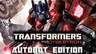 Transformers: War for Cybertron (Autobot Edition) All Cutscenes Game Movie 1080p