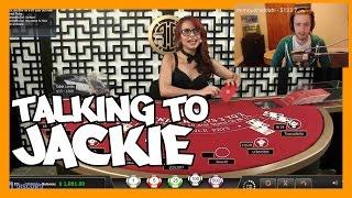 Blackjack - Talking with Jackie