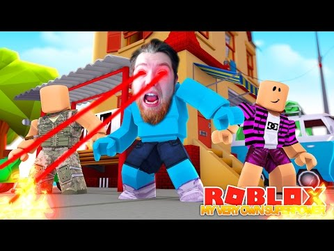 I HAVE MY OWN SUPERPOWER !!! Superhero Battle Sharky Gaming | Roblox