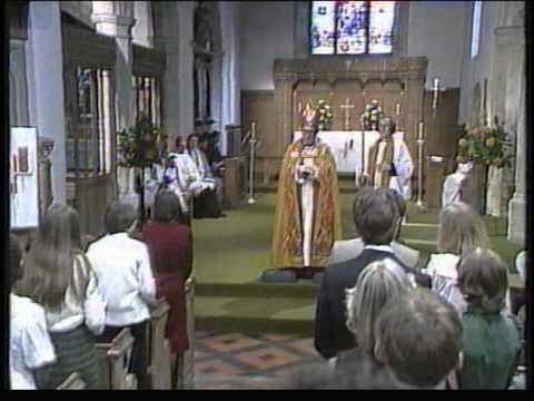 Confirmation St Mary's church 1982