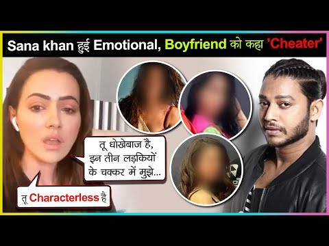 Sana Khan INSULTS Ex BF Melvin Louis For Cheating, REVEALS The Real Reason | FULL VIDEO