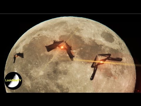 5 Best UFO SUPERMOON Sightings Caught On Camera!