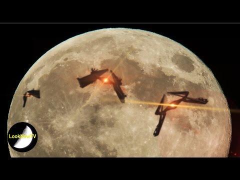 5 Best UFO SUPERMOON Sightings Caught On...