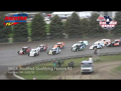Dacotah Speedway | IMCA Modified Qualifying Feature 2 | 5-31-19