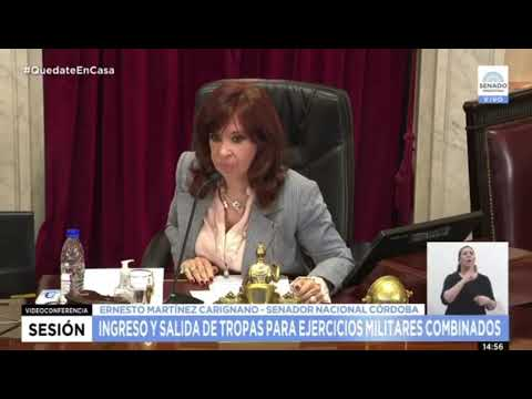 Cristina chicaneó a Esteban Bullrich en el Senado
