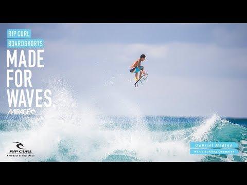 Gabriel Medina   Mirage Edge   Boardshorts by Rip Curl