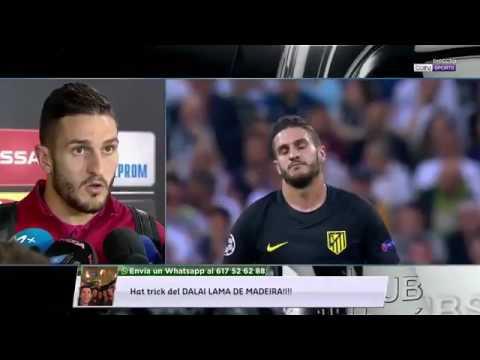 Declaraciones de Koke Real Madrid 3-0 Atlético de Madrid