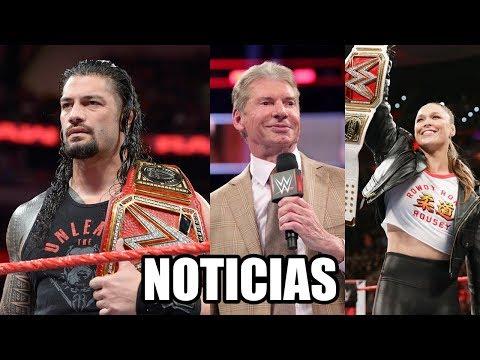WWE Noticias: ¿Reigns se ha lesionado?, Vince ama a Rousey, Alexa Bliss se ha lesionado