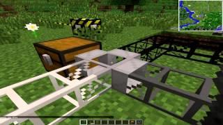 Транспортные трубы в майнкрафт 1.7.10 - Buildcraft 6.0.18