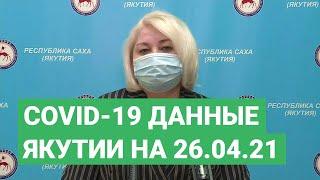 Сovid-19. Данные в Якутии на 26.04.21