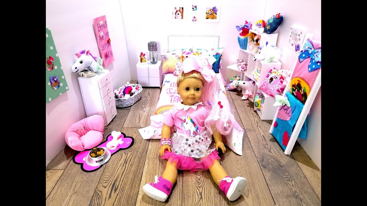 Diy Jojo Siwa S Bedroom Accessories And Decorations For Ag Doll