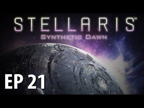 STELLARIS: SYNTHETIC DAWN | Federation Foes | Ep 21 | Stellaris Gameplay!