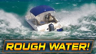 HAULOVER BOAT IGNORES SMALL CRAFT ADVISORY!! | Boats at Haulover Inlet