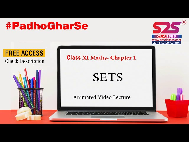 Class 11 Maths - Chapter 1 | Set Theory | Full Chapter | Quick Revision | Concept wise, #jee, JEE