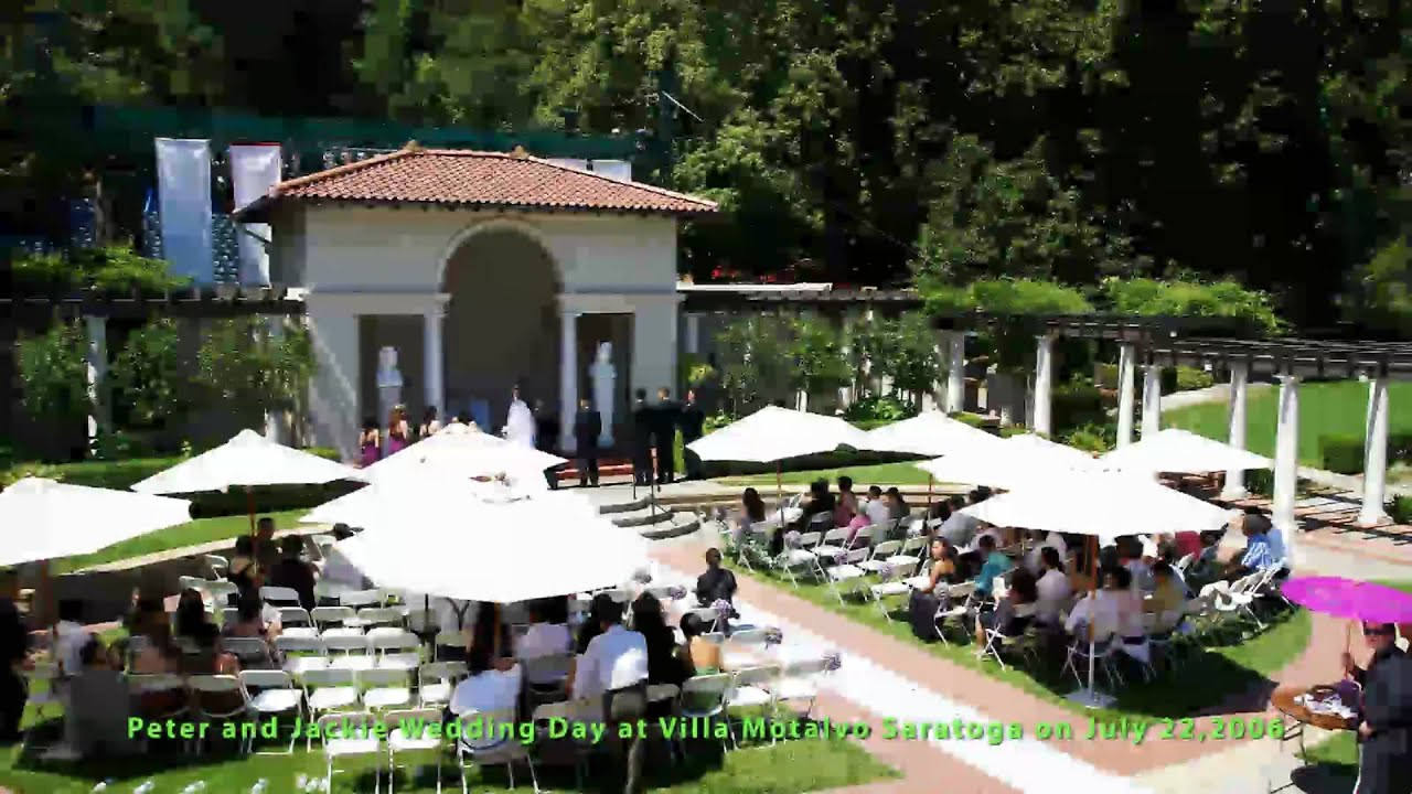 Peter Jackie Marriage Wedding Day Villa Montalvo Saratoga July 22 2006 Part 1 Of 2 You