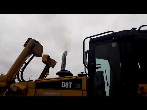 Бульдозер Caterpillar D6T – продается на HEAVY FAIR! Видео диагностика бульдозера
