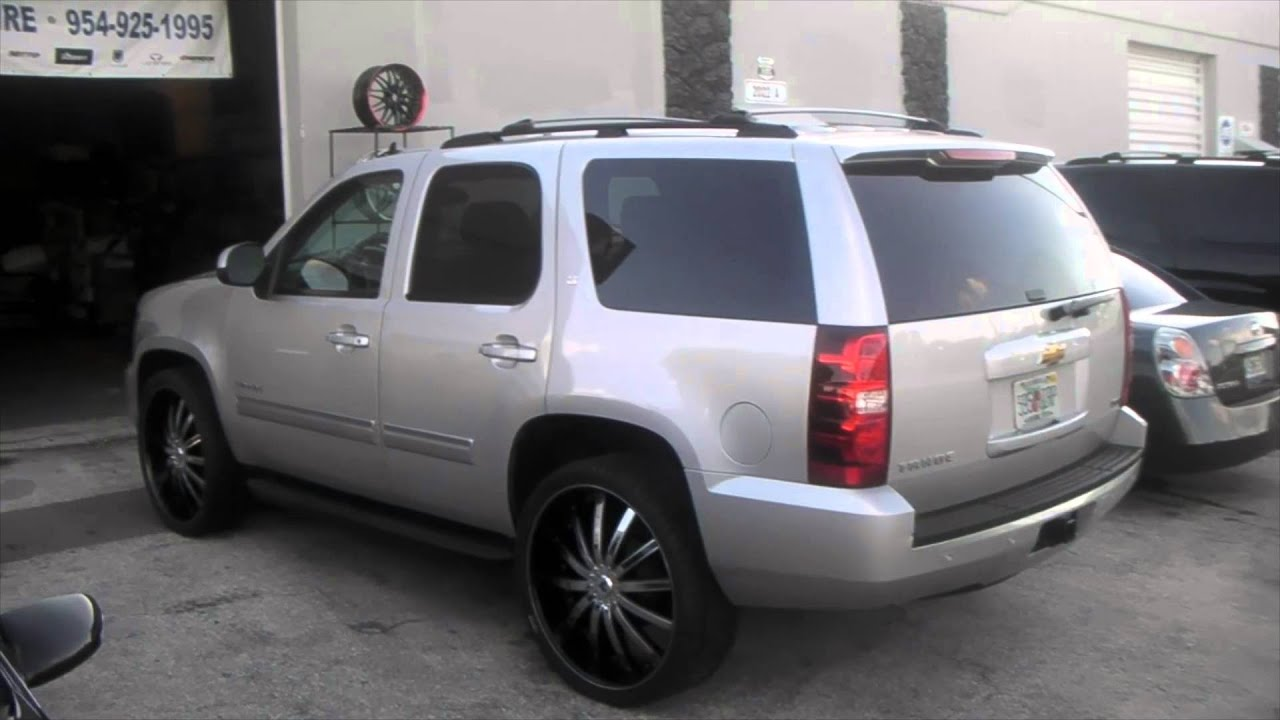 Dubsandtires Com 2007 Chevy Tahoe Review 26 Inch Venice