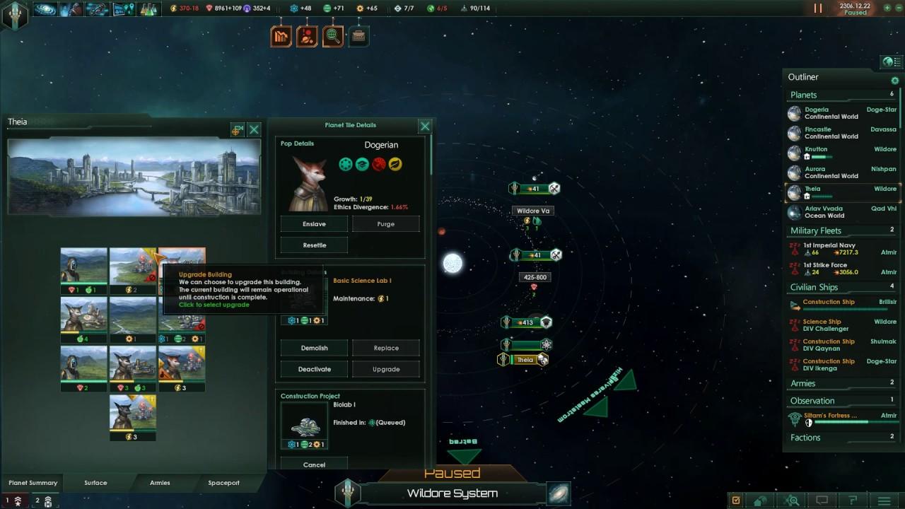 Primitive events – Stellaris Walkthrough Gameplay
