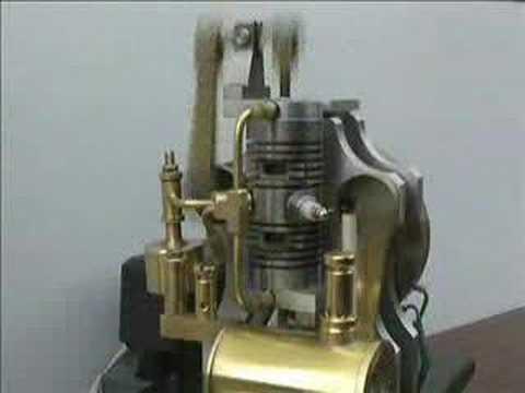 linford two stroke opposed piston model engine youtube. Black Bedroom Furniture Sets. Home Design Ideas