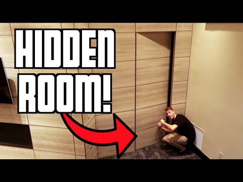 SECRET HIDDEN ROOM IN MANSION!