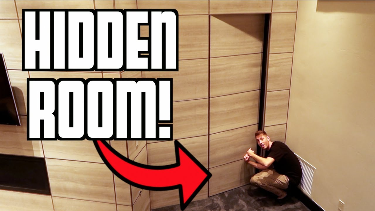 Secret Hidden Room In Mansion Youtube