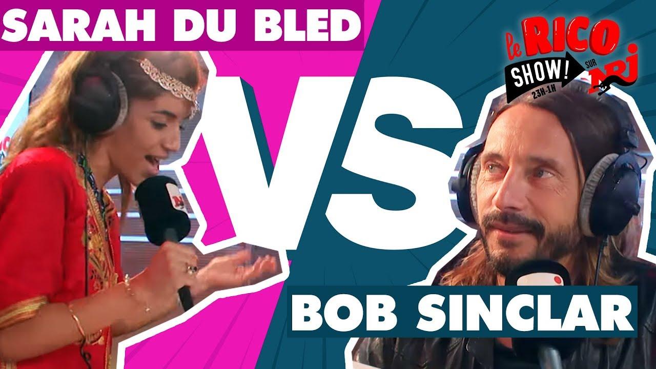 """Sarah du Bled feat Bob Sinclar """"Couscous Génération"""" - Le Rico Show Sur NRJ"""
