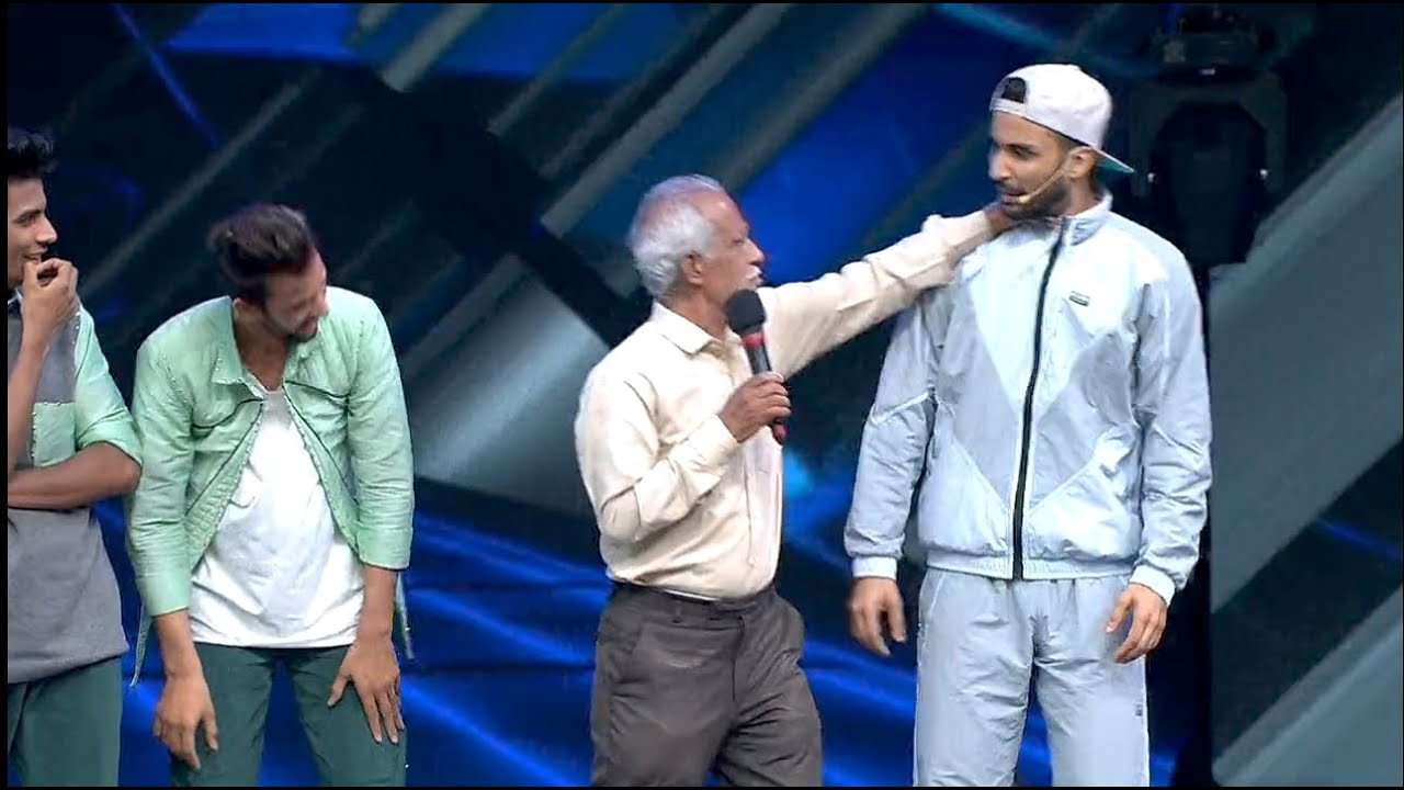 Download Raghuv Juyal Comedy With Uncle in dance plus season 6