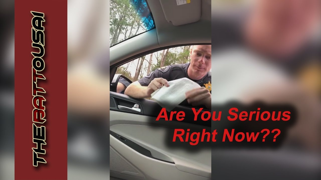 Seriously?? Man Gets Pulled Over For Doing 65 in a 70