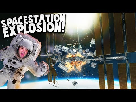 MASSIVE SPACE STATION DESTRUCTION! | Disassembly 3D Gameplay
