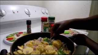 UNINTENTIONAL COOKING SOUNDS ASMR (Home Potatoes) sounds of cutting...