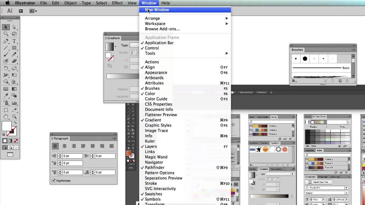 Adobe Illustrator Cc 2014 Customized Workspaces Ep 4 Youtube