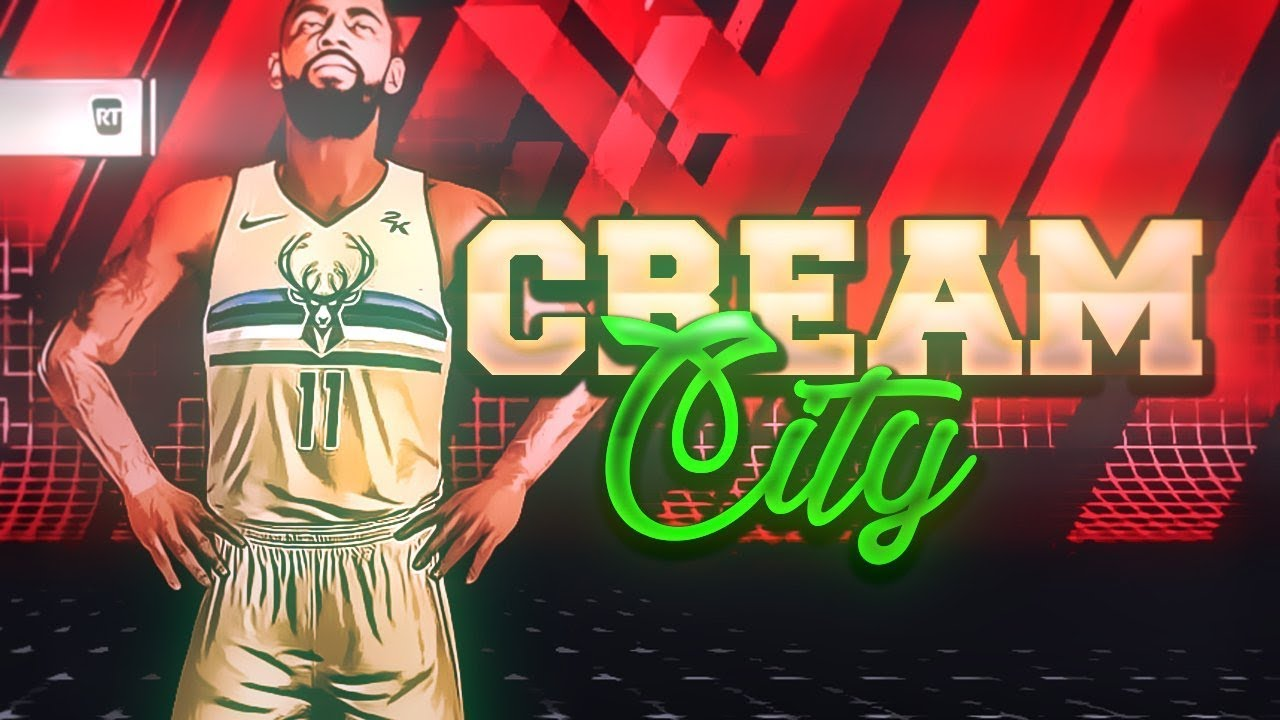 finest selection 42217 b5f87 NBA2K18 - JERSEY TUTORIAL : MILWAUKEE BUCKS CREAM CITY !