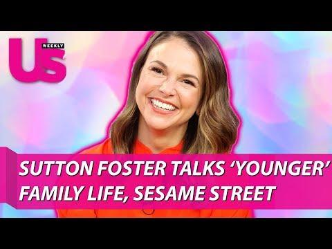 Sutton Foster talks 'Younger', Family Life, Sesame Street