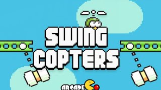 Swing Copters Gameplay by Flappy Bird Creator Dong Nguyen