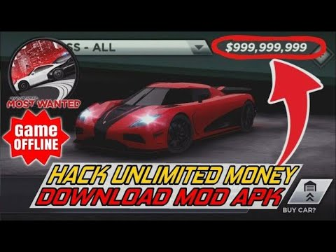 Cara Download Need For Speed Most Wanted Hack Unlimited Money & Unlock All Cars