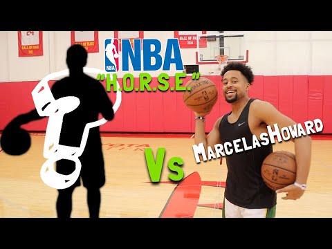 Game Of H.O.R.S.E. Vs AN NBA PLAYER!!