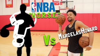 "Game Of ""H.O.R.S.E."" Vs AN NBA PLAYER!!"