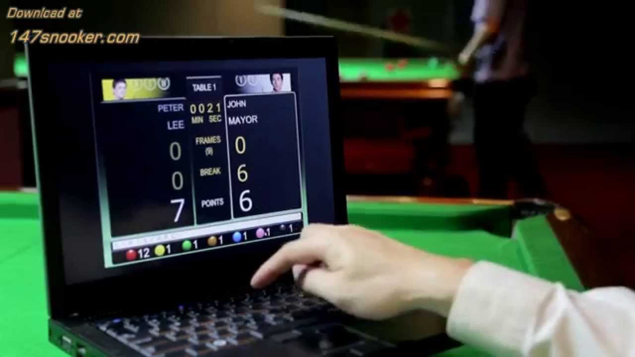 Replace Your Snooker Scoreboard With Proscore Pc
