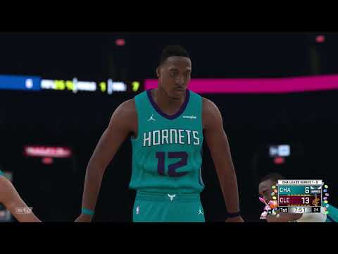 NBA 2K18 NBA 2019 Playoffs Round 1 Game 2 Charlotte Hornets vs Cleveland Cavaliers